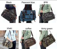 Wholesale New Fashion Men s Bags Leisure Hand The bill of Lading Shoulder Messenger Bag