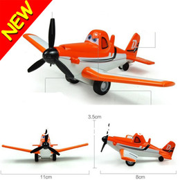 Wholesale New Funny Novelty Cartoon Dusty Planes Aircraft Model Toys Diecasts Vehicles Snap Fit