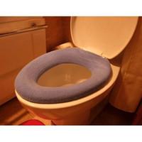 no Synthetic Hair Eco-Friendly Free Shipping toilet seat cover, acrylic toilet seat pad,dia30cm,12pcs lot