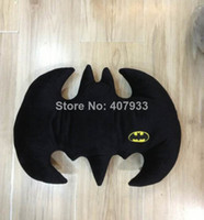 Unisex 5-7 Years Video Games 2014 Hot Sale The Dark Knight Rises Batman Pillow Animal Cartoon Plush Doll Toys 32*42cm Christmas Gift