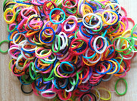 Charm Bracelets Celtic Unisex scented bands solid color 600 pcs bag rainbow loom bands for DIY bracelet loom bandz latex free rubber bands refill bags with retail pack