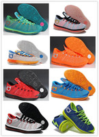 Low Cut Men Mesh Best Quality 2014 Newest Arrivals Mens KD 6.5 And LBR 11 Low Zoom Basketball Shoes Brand Mens Sport Shoes Size US8-12 BNIB Free Shipping
