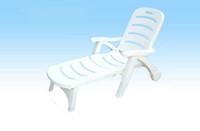 plastic folding chairs - Beach chairs Beach lounge chair Beach leisure chair Sun Lounger Beach folding chair PP plastic chair With wheels Best price