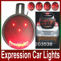 Wholesale New Arrival DRL LED Display Pannel Car Face Expression Device of Rear Windscreen Lamp Rear Decoration Lights