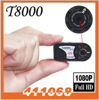 thumb camera - HK POST Infrared Night Vision Q5 P IR Motion Detection spy Camera T8000 Mini Camcorder Thumb Mini DV Pin Hole DVR