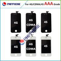 Blanc / Noir remplacement pour Apple iPhone 4 4s CDMA Lcd Display Assemblée de l'écran Lcd Digitizer tactile Avec Livraison rapide