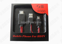 Wholesale 2M MHL Micro USB Adapter HDTV HDMI Cable for Samsung Galaxy S4 i9500 S3 SIII i9300 Note N7100 Retail Box