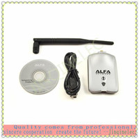 Wholesale 1000mW Realtek L Chipset Alfa Awus036H Alfa USB Wifi Adapter with dBi Antenna