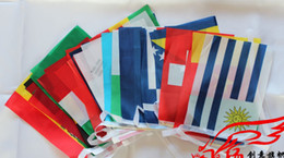 Wholesale set The world cup the European Cup national team flag England France Germany America Flag