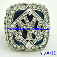 Wholesale World champion alloy ring professional baseball the yankees super bowl championship ring