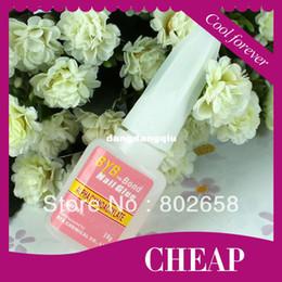 Wholesale-Free Shipping 50pcs BYB Bond Glue 10g Nail Art Glue for False Acrylic Decorate Tips wholesale