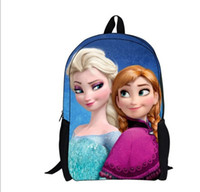Wholesale IN STOCK Big adventure queen s bag stereo students bag Cartoon during school bag d backpack FROZEN package discount x1