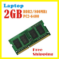 Wholesale High quality DDR2 GB Mhz PC2 for Laptop RAM Memory