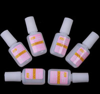 Nail Art 3D Decoration Nail Art Rhinestones Nail Gel Wholesale-6 PCS French False Acrylic UV Gel Nail Art MXBON Nail Glue
