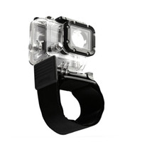 Wholesale 40pcs NEW Nylon Diving Wrist Strap Band Velcro Mount for GoPro Hero Camera DZ Black D1178