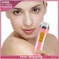 Wholesale Free DHL Hot Sale Home Use radio frequency skin thermage RF face care wrinkle Remove Acne beauty massage machine T