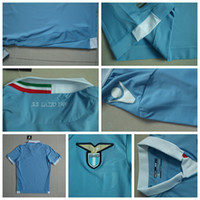 home kit - 2014 SS Lazio Soccer Jerseys Football Jersey Uniforms Kits Season Clothing Discount T Shirts Cheap Thailand Custom Tops Home Wears Sets
