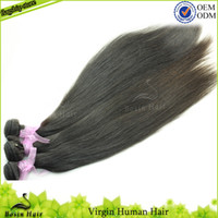 Malaysian Hair Weave Grade 5A Free Shipping Mix Length Malay...