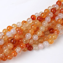 Wholesale 6mm Natural Carnelian Round Beads Strand quot