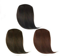 Wholesale Woman s Girl s Hairpiece Clip on Bang Fringe Tilted frisette Hair Extensions PP13