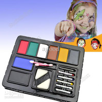 Wholesale Costume party art Cosplay paints face paints Halloween Masquerade the bar dance party