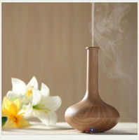 Wholesale vase Ultrasonic Aromatherapy Machine Home Office Aroma Genuine mute mini air purifier humidifier anion humidifier