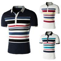Men Cotton Polo New Fashion Summer Brand Casual Fitness Man Polo Tshirts 2014 Designer Stylish Cotton T Shirts Mens Short Sleeve T-shirt Plus Size 805