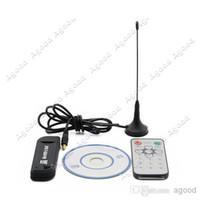 Wholesale FeDex New Software Radio USB DVB T RTL2832U R820T Support SDR Digital TV Tuner Receiver
