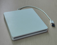 Wholesale DHL Super Slim USB External Slot in DVD RW Enclosure Case mm mm SATA Optical Drive Superdrive For Macbook