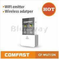 External comfast - COMFAST CF WU715N Mini USB Wireless N b g n WiFi Network Adapter Wi Fi Dongle High Gain Mbps Ralink chipset