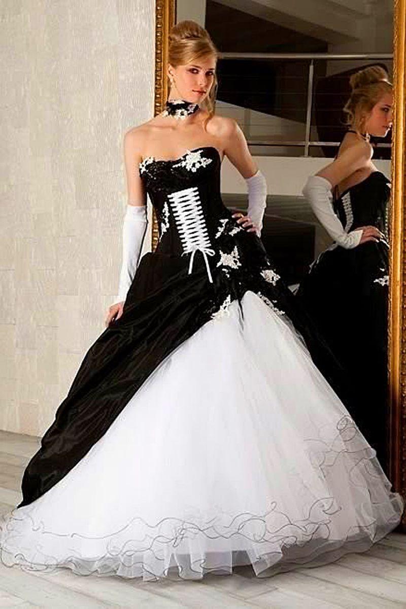 Gothic style plus size wedding dresses – Dress blog Edin