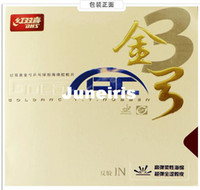 Wholesale High quality Double happiness Gold Arc3 pingpang rubber DHS Gold Arc table tennis ball rubber