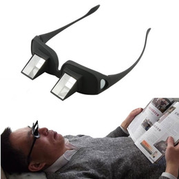 Wholesale Creative Lazy Periscope Horizontal Reading Glasses Watch TV Sit On Bed Lie Down View Eye Glasses Newest