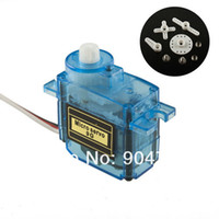 Wholesale New arrival SG90 G Micro Mini Servos Horns For Helicoper Airplane car