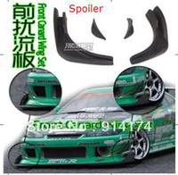 Wholesale RC car accessories RC car parts spoiler front canard wing set for RC car