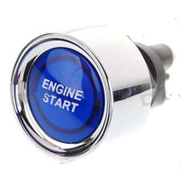 Wholesale Blue Light Push Start Ignition Switch for Racing Sport DC V