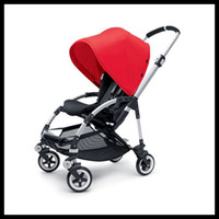 Wholesale Red Hot Pink Sand Off white Bee Stroller Bugaboo Baby Pushchair with Rain Cover Very Practical Infant Pushchair Newborn Buggy