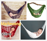 Baby hat basic knitted hat - Newborn Scandinavian children s photography studio photo props basic knitting wool baby baskets hammock