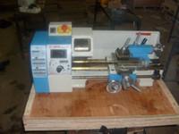 WM180V  mini lathe - Lathe lathe machine WM180V home mini lathe machine power W stepless adjustment speed display