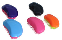 Wholesale Excellent quality The Original style Hair Brush TT comb Paddle Brush detangle brush by DHL colour