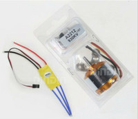other kk - New XXD A2212 KV Brushless Outrunner Motor T for RC Aircraft KK QuadCopter UFO ESC A