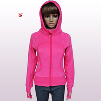Wholesale Clearance Sale Lowest Price Lululemon Yoga Scuba Hoodies High Quality Good Fabric Sweaters Over pc by EMS