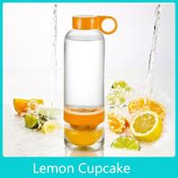 Wholesale Sport Vigor Citrus Lime Lemon Cup Fruit Press Juicer Water Tea Bottle Glass
