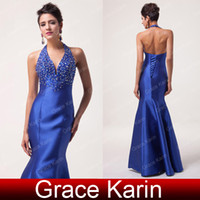 Grace Karin 2014 Beaded Mermaid Formal Evening Long Gown Par...