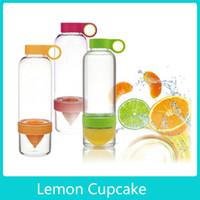 Wholesale Citrus Zinger Sport Vigor Citrus Lime Lemon Cup Fruit Press Juicer Water Tea Bottle