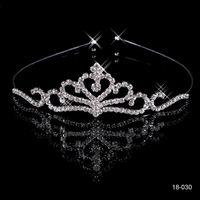 Tiaras&Crowns Rhinestone/Crystal  Free Shipping Cheap $4.99 2014 Hot Sale Popular Beautiful Hair Accessories Comb Crystal Rhinestone Bridal Wedding Tiara Bridal Accessories