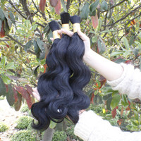 peruvian human hair bulk for braiding - No weft human hair bulk for braiding oz Joyful queen hair cheap peruvian body wave bulk b color