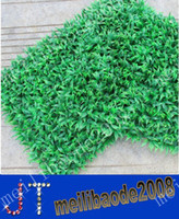 Wholesale X60cm simulation encryption plastic Barley grass lawn turf seedlings Artificial plastic boxwood mat MYY9341