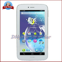 Wholesale MTK Phablet GPS Bluetooth G G Phone Call Pad M GB Double Sim Card Android Tablet PC MTK8312 Dual Core Smart Phone inch