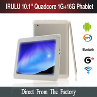 "US Stock! iRuLu 10. 1"" Quad Core Phone Tablet PC Android..."